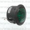 r992ngre-sci-230vac-neon-indicator-light-d23198mm-48-faston-wgreen-color-glimm
